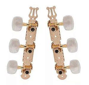 Tarraxas Deval linha Standard (Dourada)- Pino Grosso