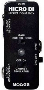 Pedal Mooer Micro Di Direct Box MDI1