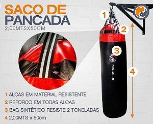 SACO DE PANCADA SUPERBAG 2,00 MTS X 50 CM