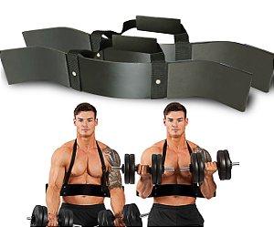 Colete Scott Arm Blaster p/ Treino de Bíceps
