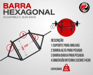 BARRA HEXAGONAL