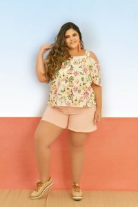 Short Plus Size Curto Candy