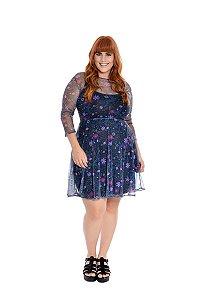 Vestido Plus Size Curto Constelação II