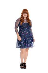 Vestido Plus Size Tule Constelação