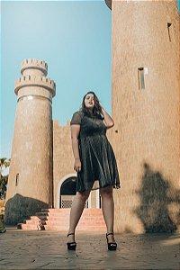 Vestido Plus Size Curto Alexandria