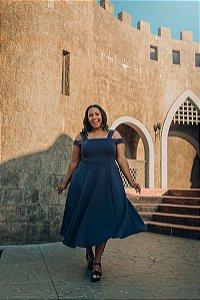 Vestido Plus Size Midi Palermo