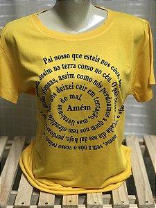 T-shirt Oração Pai Nosso