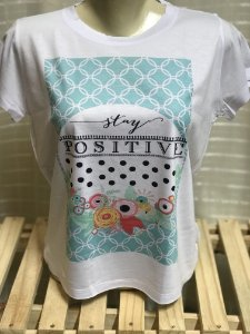 T-shirt Stay Positive