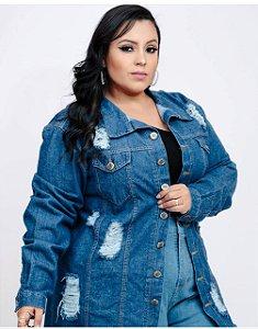 Jaqueta Jeans Plus