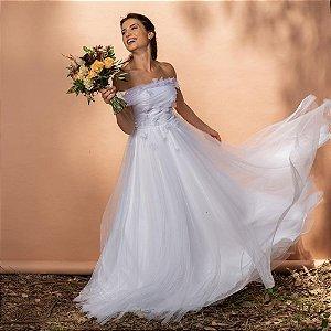 Vestido de Noiva Alma