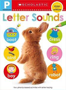 Pre-K Skills Workbook: Letter Sounds