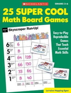 25 Super Cool Math Board Games