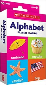 ALPHABET FLASH CARDS SCHOLASTIC
