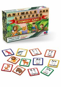 ANIMALS AND LETTERS - MEMORY GAME