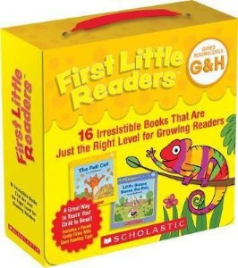 FIRST LITTLE READERS PACK LEVELS G & H- 16 LEVELED BOOKS FOR LITTLE LEARNERS