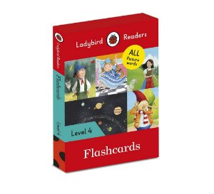 FLASHCARDS - LADYBIRD READERS LEVEL 4
