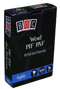 JOGO DE CARTAS - WORD PIF PAF