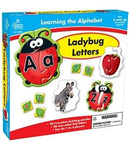 LADYBUG LETTERS - LEARNING THE ALPHABET PUZZLES