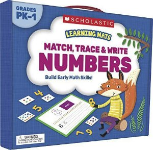 LEARNING MATS: MATCH, TRACE & WRITE NUMBERS