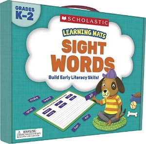 LEARNING MATS: SIGHT WORDS