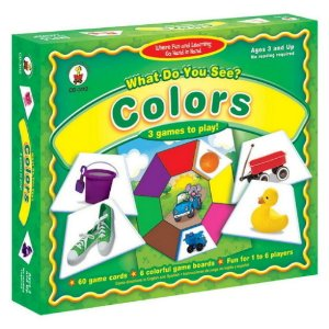 WHAT DO YOU SEE COLORS- 3 GAMES TO PLAY
