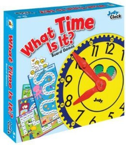 WHAT TIME IS IT BOARD GAME