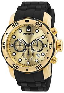 Relógio invicta Pro Diver 18040 Original Dourado