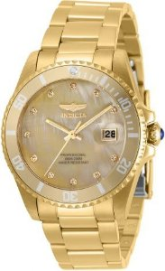 Relógio invicta Feminino Dourado 31700 Original