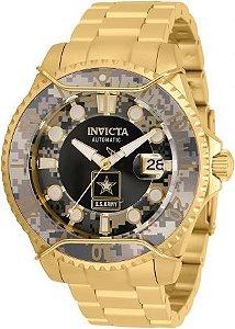 Relógio invicta Masculino Army Camuflado 31853 Original
