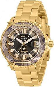Relógio invicta Masculino Army Camuflado 31857 Original