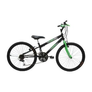 Bicicleta ARO 24 MTB 18 Machas Flash
