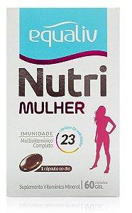Equaliv Nutri Mulher 60 CAPS