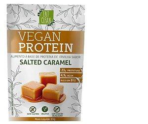 Vegan Protein Salted Caramel - Sachê 30G - 23gramas de Proteína