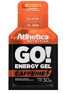 GO! Energy Gel Cafeine Laranja com Acerola - 1 Sachê de 30g.