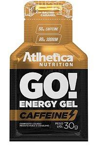 GO! Energy Gel Caffeine Salt Caramel  -1 Sachê de 30g.