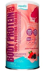 Body Protein Red - com BCAA Naturalmente 600g - Equaliv