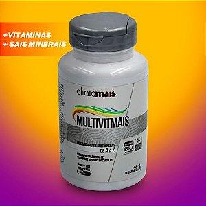Multivitmais - Vitaminas e Minerais - 60 Cápsulas