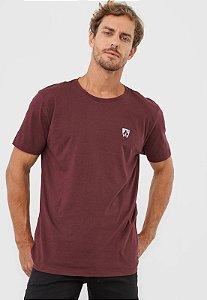 Camiseta Basica Calvin Klein Marrom Side