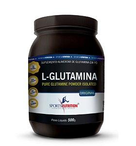 L-Glutamina 500g - Sports Nutrition