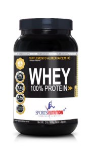 Whey Protein 100% 908g- Sports Nutrition
