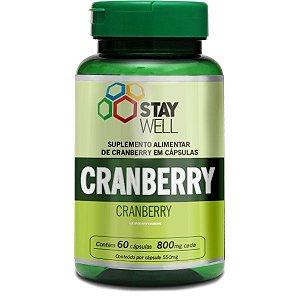 Cranberry 60 cápsulas de 800 mg Stay Well