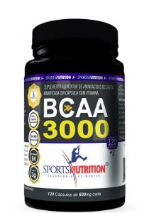 BCAA 3000 120 Cáps. - Sports Nutrition