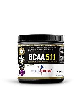 Bcaa 5:1:1 - 240g - Sports Nutrition