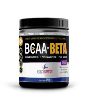 Bcaa Beta 5:1:1 Sabor Uva 250g  Sports Nutrition