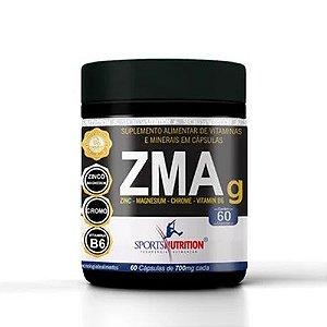 Zmag 60 Cápsulas - Sports Nutrition -  Mais Testoterona