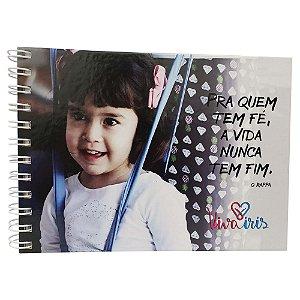 CADERNO DE ANOTAÇÃO C/ WIRE-O 15x21cm /CECÍLIA