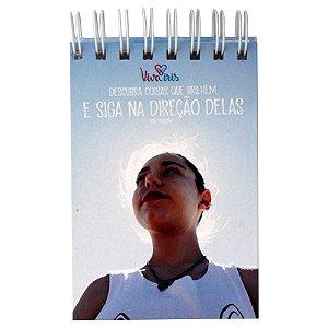 BLOCO DE ANOTAÇÃO C/ WIRE-O 10x15cm /IRIS
