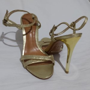 Sandália Schultz Gold | Tamanho 33