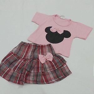 Conj. Baby - Blusa e Saia | Modelos variados