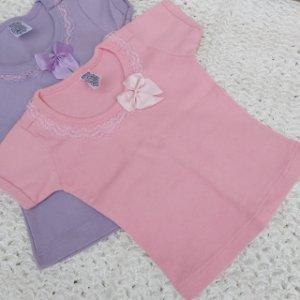 Kit Blusa e Camisetas Baby